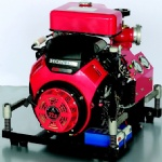 22HP Gasoline Portable Fire Pump
