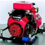 27HP High Pressure Gasoline Portable Fire Pump