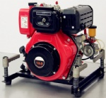 10HP Diesel Portable Fire Pump