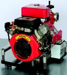 22HP Diesel Portable Fire Pump